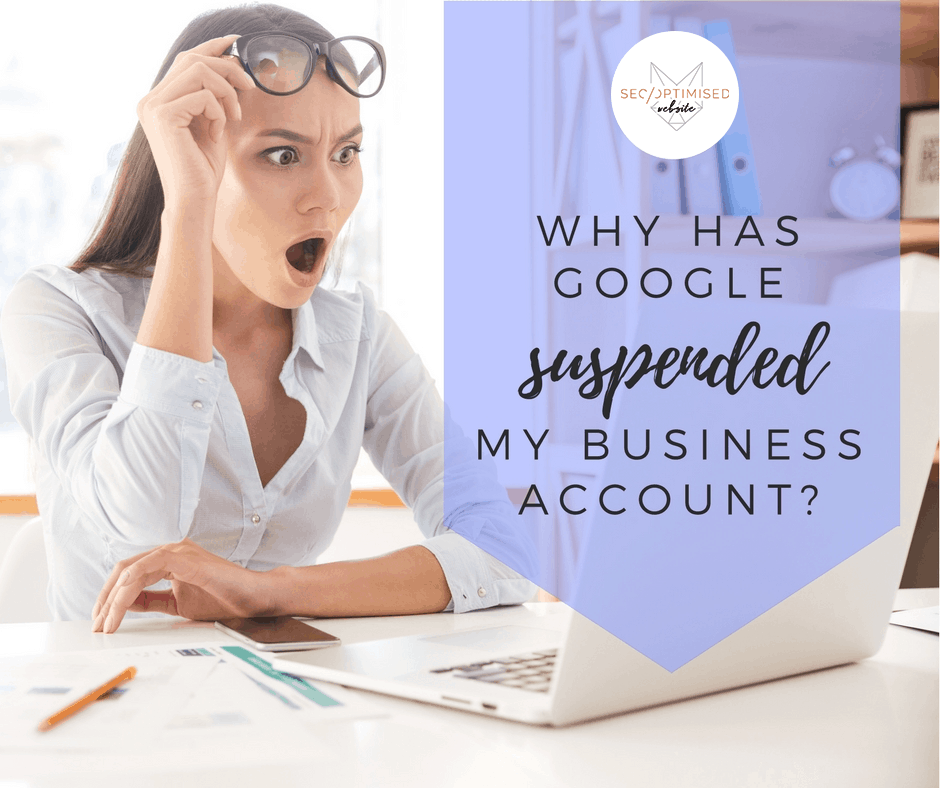 google suspended my business account