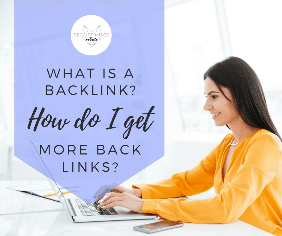 What is a Backlink- How do I get more Back Links- - Blog