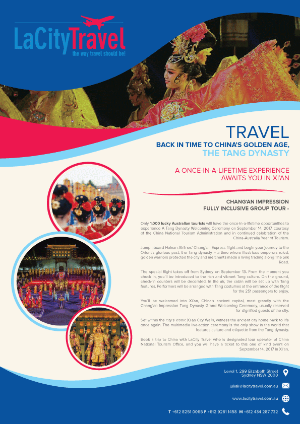Travel Tour Agency Brochure