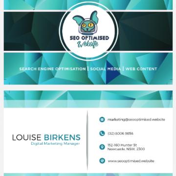 seooptimised business card