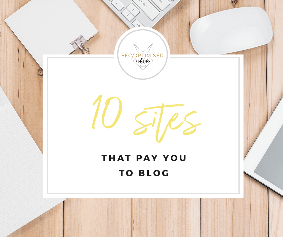 websites that pay you to blog
