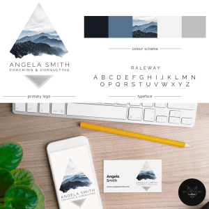 Consultant Logo and Business Card Design