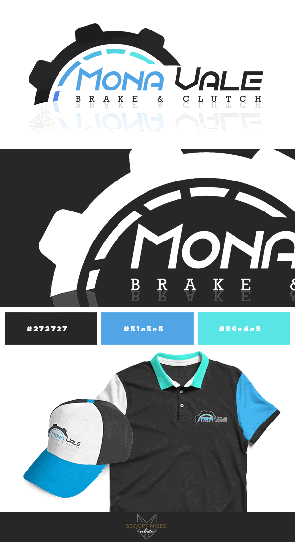 Brake and Clutch Business Logo mockup