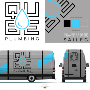 Plumbing Company Logo mock up