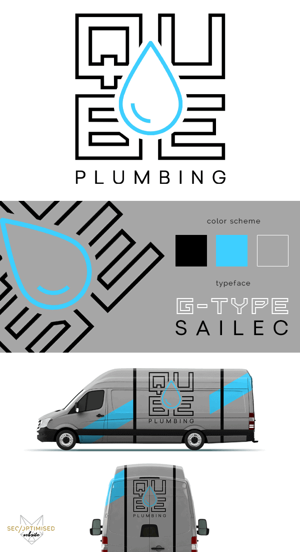 Plumbing Company Logo was the brief for this design from SEO Optimised