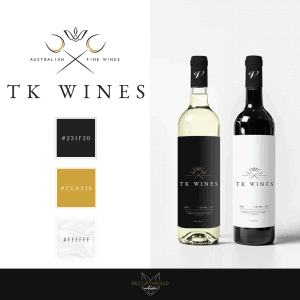 Wine Wholesaler Logo Design